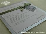 pozivnica srebrna za vjenčanje sa slikom