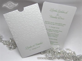 Pozivnica za vjenčanje - White Flowers Charm