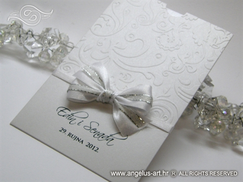 White and Silver Charm