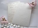 Pozivnica za vjenčanje - Charm Cream Heart