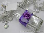Pozivnica za vjenčanje - Poruka u boci Pruple Rose