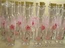 Pozivnica u boci- Pink Rose