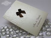 Zahvalnica za vjenčanje  - Brown Bow Charm