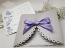 Pozivnica za vjenčanje - Lavender Lace Diva