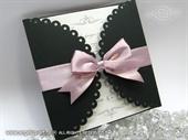 Pozivnica za vjenčanje - Dark Lace Diva