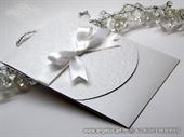 Pozivnica za vjenčanje White Flower Classic