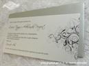 Pozivnica za vjenčanje Grey Line