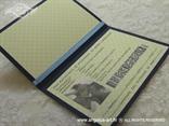 pozivnica za vjenčanje putovnica plava
