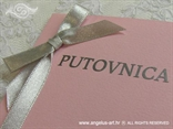 pozivnica za vjenčanje putovnica ružičasta