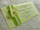 Pozivnica za vjenčanje Harmony Orhideja