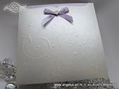 Pozivnica za vjenčanje - Pearl Lilac Charm