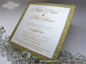 Pozivnica za vjenčanje - Golden Line