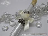 Pozivnica za vjenčanje - Epruveta Bijela školjka