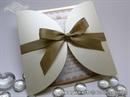 Pozivnica za vjenčanje - Gold Cream Diva