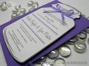 Pozivnica za vjenčanje - Purple Bottle