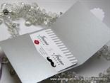 pozivnica za vjencanje u srebrnoj omotnici 5608