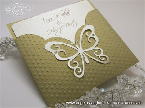 Golden Butterfly Charm