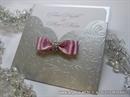 Pozivnica za vjenčanje - Silver & Pink Shine Charm