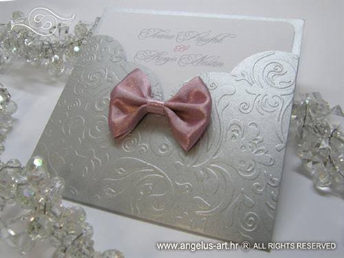 Silver and Pink Charm
