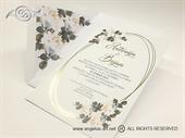 Pozivnica za vjenčanje - White Rose Lines
