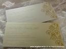 pozivnice sa zlatnim tiskom na šampanj kartonu