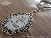 Poklon - Privjesak za ključeve Vjera Biblijski stih