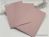 Prljavo roza kuverta 12x17cm