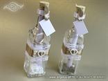 punjenja za pozivnicu u boci bijelo smeđu