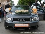 registarska tablica za auto narančasta za vjenčanje