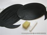 rekvizit za fotografije drvene podloge za pisanje kredom