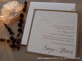 Wedding invitation - Vintage Birds