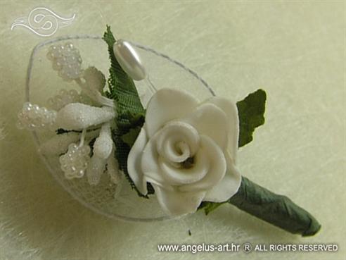 White Petal Rose