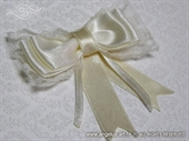 Kitica i rever za vjenčanje - Cream lace