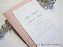 Pozivnica za vjenčanje - White Flowers Line