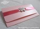 Ekskluzivna čestitka - Pink Butterfy