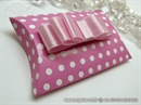 Polka Dot Pillow Box