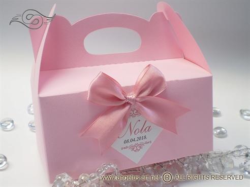 Roza kutija za kolače