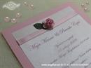 Pozivnica za vjenčanje Pink Rose Fairy Tale