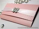 Pozivnica za vjenčanje Pink Dot Letter