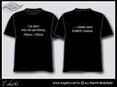 Majica s natpisom - STIL 2