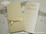 šampanj pozivnica za vjenčanje s etui kuvertom