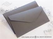 Siva kuverta 11x21,5cm