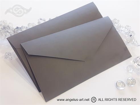 Siva Kuverta 21,5x11cm