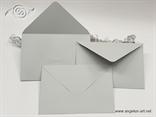 Svijetlo siva kuverta 12x17,5cm