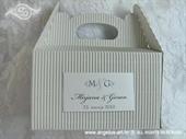 Kutija za kolače - Siva kutija s personalizacijom