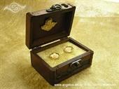 Jastučić za prstenje Škrinjica Angel