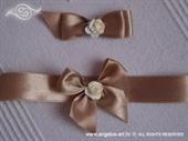 Kitica i rever za vjenčanje Brown Bow