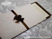 Pozivnica za vjenčanje Charm Brown