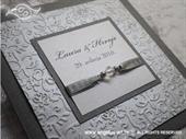 Pozivnica za vjenčanje Per Sempre Royal Silver