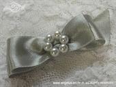 Kitica za rever za goste vjenčanja - Silver Elegance